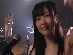 Baby Blosom - SOD ... Japanese topless musical group
