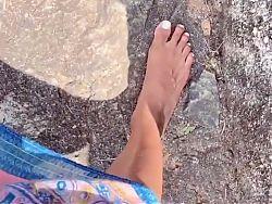SL model sexy feet