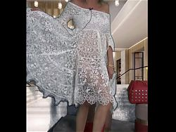Joanna SEMINUDA sotto il vestito...