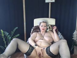Mature whore virtually fucks with her son! My mom is a slut!