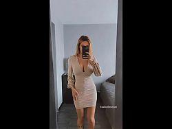 Mmjhottie (influencer) tight dress try on haul
