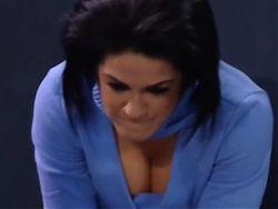 WWE - Bailey cleavage