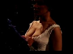 PEMI ZOUNI NUDE: breast and hairy pussy scene