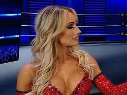WWE - Carmella and Billie Kay backstage on Smackdown 4-2-21